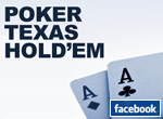 Poker Texas Hold'em sur Facebook