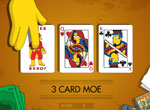 Simpsons 3 Card Moe