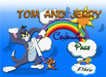 Tom et Jerry Coloriage